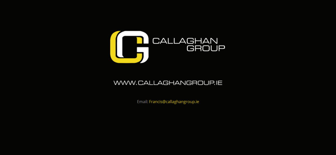 Callaghan Group Landing Page