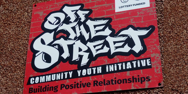 Off the Street Signage