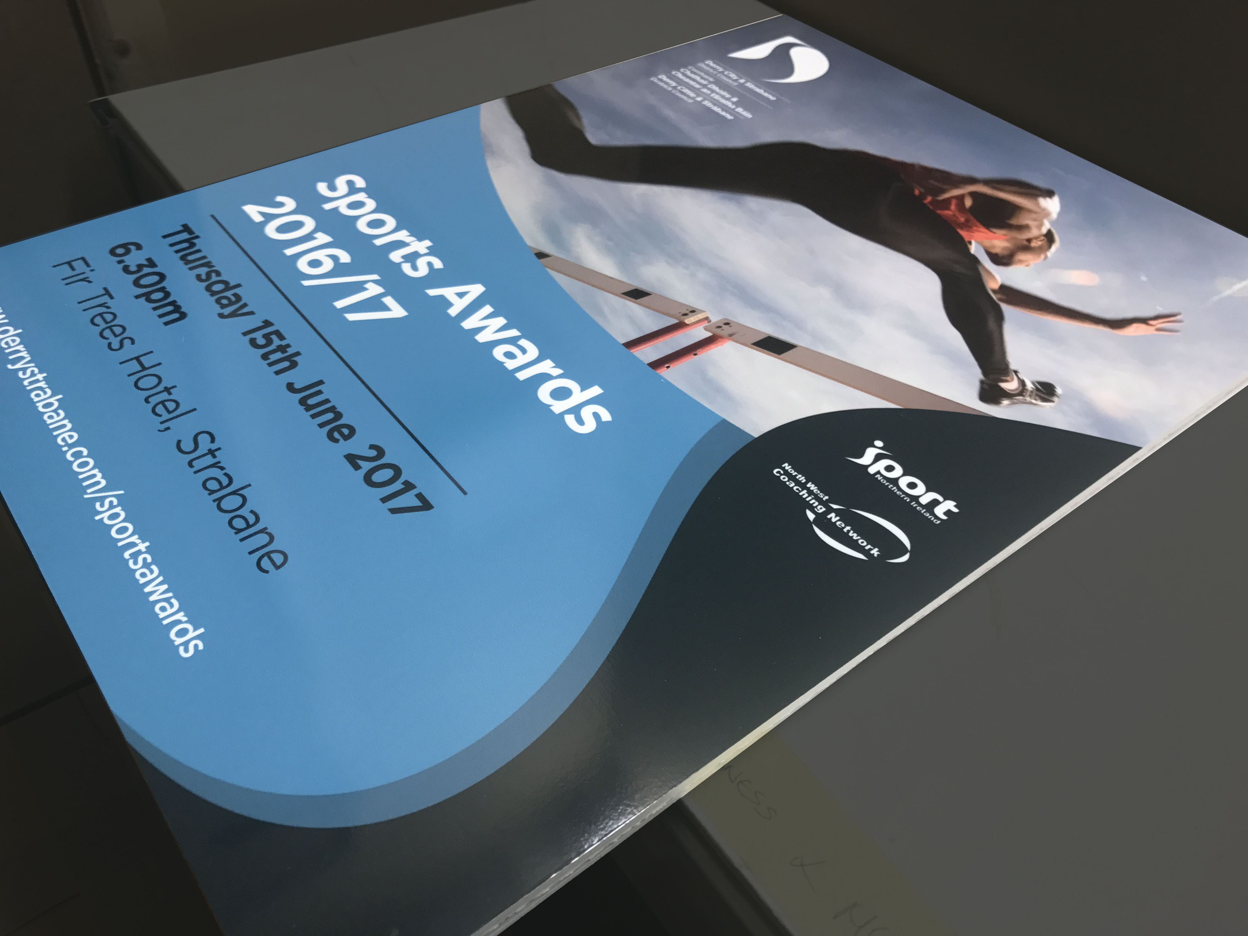 Sports Awards booklets