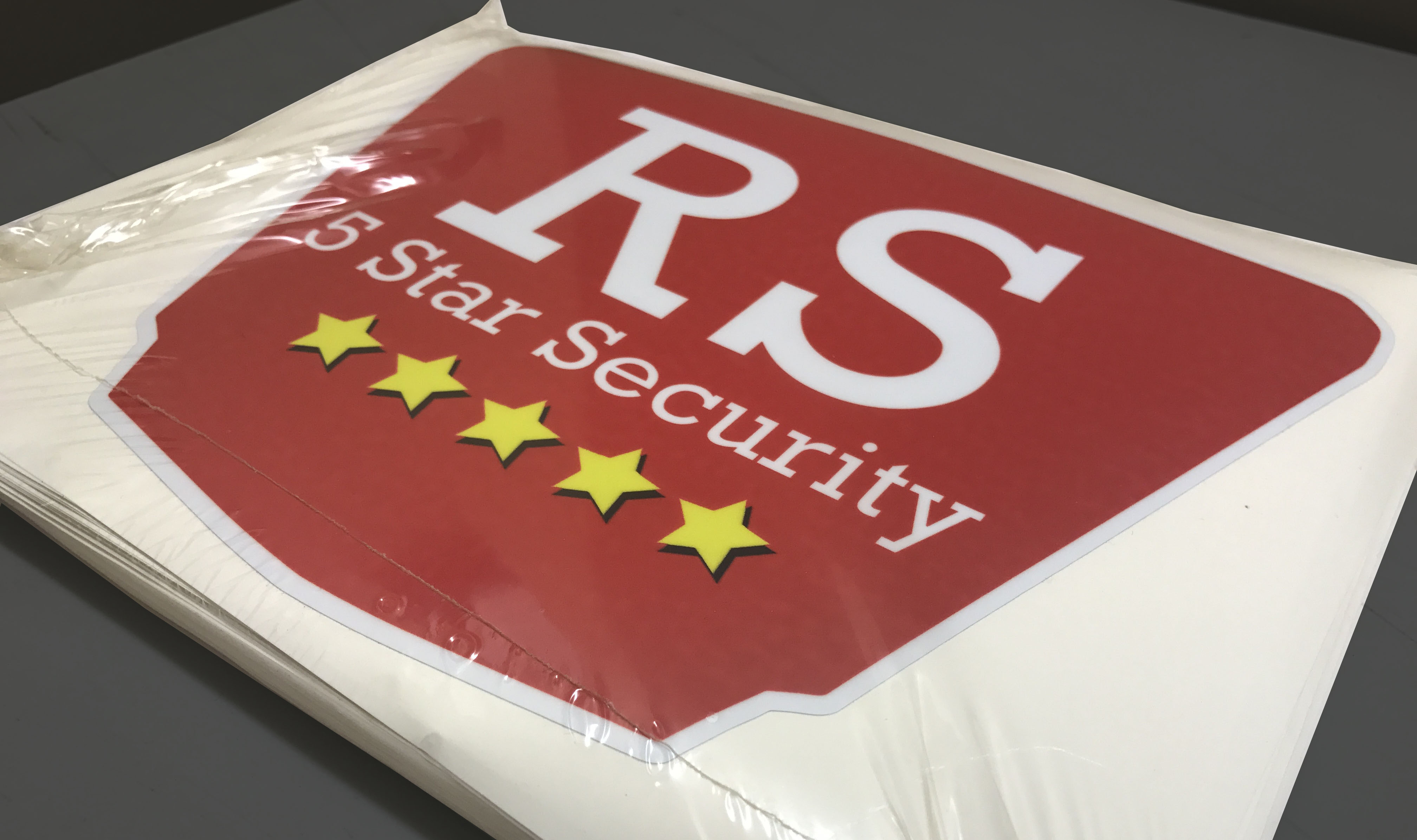 RS security Stickers